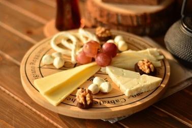 Bambum Lasiago Dönen Peynir Tabagi Renkli
